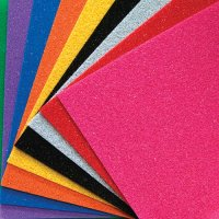 "9"" x 12"" Glittering Wonderfoam 10 Pack CK-4344"