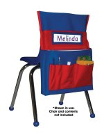 Chairback Buddies Blue/Red [CD158035]