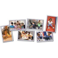 Children Learning Together Photographic Learning Cards (A15-KE845013)