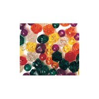 Clear Colour Brilliant Beads 75 Pack R-2182
