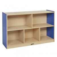 "Colorful Essentials Storage Cabinet 5 Comp 30""H BLUE- ELR 0712-BL"