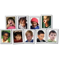 Facial Expressions Photographic Learning Cards (A15-KE845020)