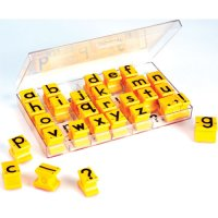 Lowercase Letters Rubber Stamp (A73-1471)