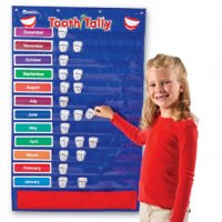 Tooth Tally Pocket Chart