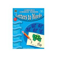 Gr K-1 Letters to Words Building Writing Series TC3246