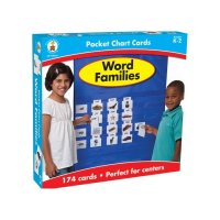 Word Families Pocket Chart Game  CD158152
