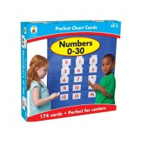 Numbers 0 30 Pocket Chart Game CD158154
