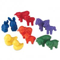 Friendly Farm® Animal Counters - Set of 72  LER 0180