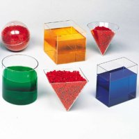Clear Plastic Geometric Volume Set LER 0240