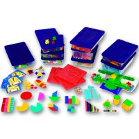 Grades 3–4 Manipulatives Kit for Hands-On Standards®: Photo-illustrated Lessons for Teaching with Math Manipulatives Item # LER 0862
