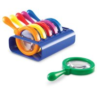 Primary Science Jumbo Magnifiers with Stand LER 2884