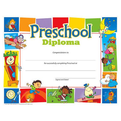 preschool diploma b56