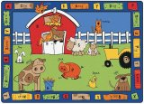 Alphabet Farm Rectangular
