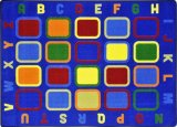 Alphabet Tiles Educational Rugs