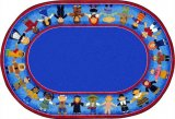 Children Of Many Cultures Rug Oval