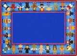 Children Of Many Cultures Rug Rectangular