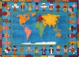 Hands Around the World™ Educational Carpets JC1488