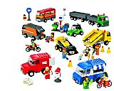 LEGO Education Vehicles Set Trucks Motorcycles & Cars (934 Pieces) 9333