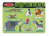 Zoo Animals Sound Puzzle  Item #:MD- 727