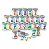 Alphabet Soup Cans with Photographic Cards LER-6801