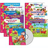 Dr. Jean Lap Book Variety Pack & CD, 12 books