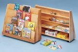Library Bookcase - Solid Birch Plywood SWT-1751