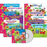Sing Along & Read Along With Dr Jean Variety Pack with CD