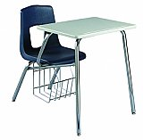 "Combination Chair desk17-1/2""Seat height Laminate surface7457C"
