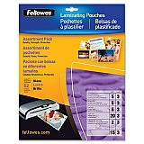 Fellowes Laminating Pouch Starter Kit, 52 pack
