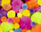 Pom Pons - Hot Color - Assortments CK-8112-02
