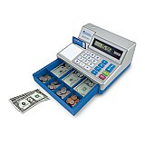 Pretend & Play® Calculator Cash Register - Limited Edition  LER 2629-D