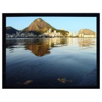 "LuxFrame Screen Velvet Trimmed Screen 16:9 HDTV Format- 53""x94"" - 59""x105"" - 909xxx Size Option Available"