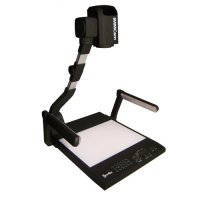 iMMCAM DOCUMENT CAMERA WITH 200 TOTAL DIGITAL ZOOM AUTO-FOCUS / LED LAMPS & LIGHT BED / VIDEO/ VGA/ HDMI / DVI  LBX-500