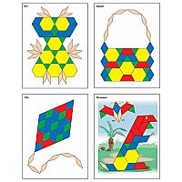 Thinking Kids' Math Pattern Block P CD-146026