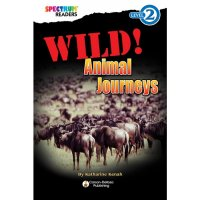 Spectrum Readers Wild! Animal Journeys  CD-704328
