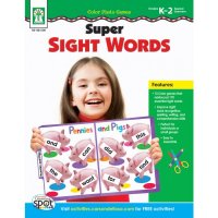 Super Sight Words  CD-KE804106