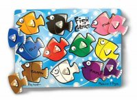 Fish Colors Mix 'n Match Peg Puzzle  Item #:MD- 3268