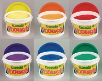 Crayola Dough bucket ( Set of 6 Colours ) CR-0034 S