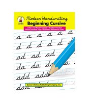 Gr 1-3 Modern Handwriting Beginning Cursive Practice Ebook CD-0885EB
