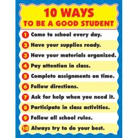 10 Ways to Be a Good Student