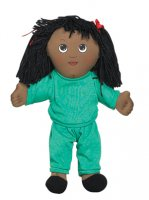 African American Girl in Sweat Suit CF100-733