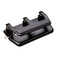 Master Heavy-Duty Three-Hole Punch with Gel Pad Handle MAT MP50
