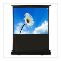 TheaterNow! Portable Deluxe  HDTV (16:9) Format  Powered Pull-Up Screen 809xxx