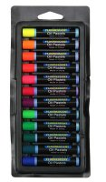 Fluorescent Oil Pastels - 12 Color Set CK-1314
