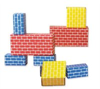 Corrugated Blocks- Set of 84Pcs 709084