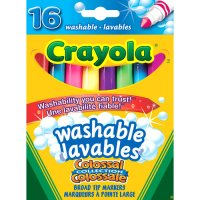 16 Crayola Washable Broadline Markers A26-567916