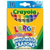 16 My First Washable Crayola Crayons Pack of 12 A26-523281