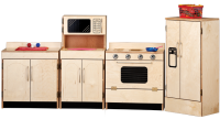 Classic Baltic Birch Kitchen 4 Pcs Set SW1701234