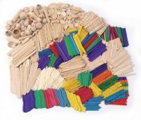 Wood Crafts Activities - Over 2,100 Pieces CK-1718