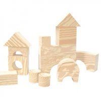 Wood Like Soft Blocks 30Pcs EDU-715070
